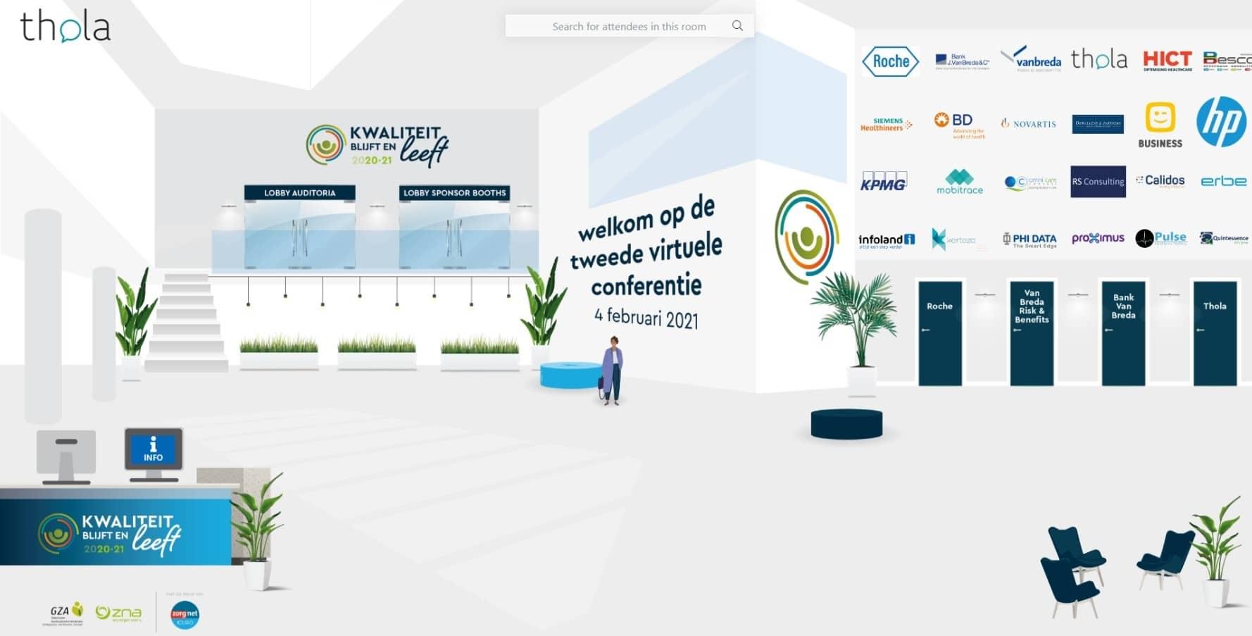 Virtuele lobby